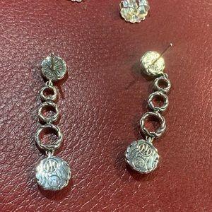 Palu Round drop earrings